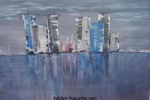 City in Acryl