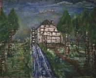 Beller Mühle gegen 1910