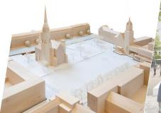 Modell Marktplatz Rheydt