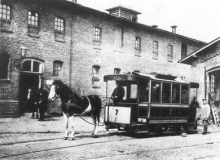 Rheydt Pferdebahnwagen