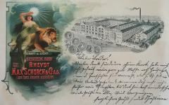 Firma Schorch 1900
