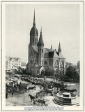 Hauptkirche Rheydt und Hohenzollernbrunnen