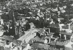 Rheydt Luftaufnahme-Stadtkern 1920