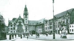 Markt um 1900