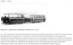 Strassenbahn 1900