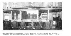 Strassenbahn 1901