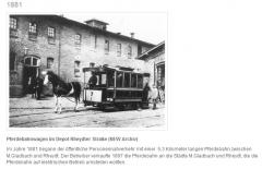 Pferdebahnwagen