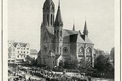 Hauptkirche Hohenzollernbrunnen um 1920