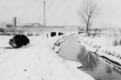Niers zw Beller Mühle und Kochschulstrasse im Winter