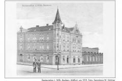 Restauration Beckers 1919