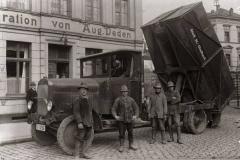 Städtischer Müllwagen 1930